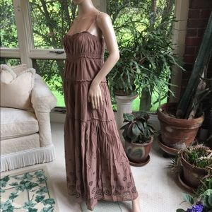 Juicy Couture Dresses - Juicy Couture eyelet maxi dress